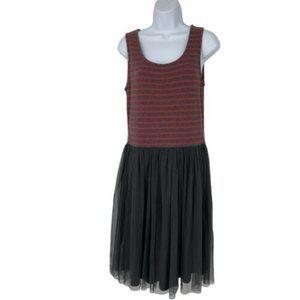 Matilda Jane Twas The Night Striped Tank Dress